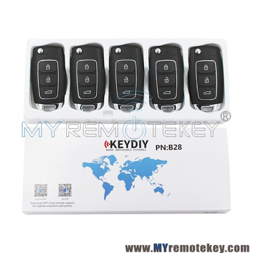 B28 Series KEYDIY Multi-functional Remote Control