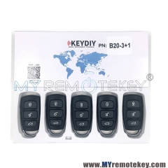 B20-3+1 Series KEYDIY Multi-functional Remote Control
