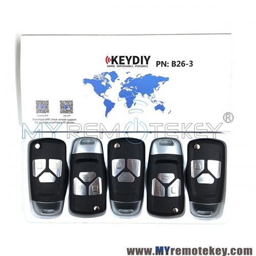 B26-3 Series KEYDIY Multi-functional Remote Control