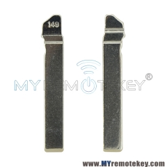 Replacement Flip Floding Remote Key Blade HU162T Car key Blank For VW Golf 7  (New 149#)