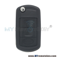 Flip remote key for Landrover LR4 HU92 3 button ID44