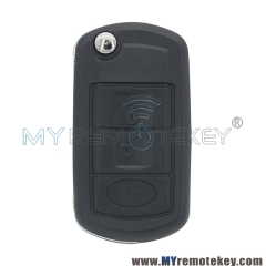 Flip remote key for Landrover LR4 HU101 3 button ID44