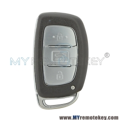 Smart car key 3 button 433Mhz for Hyundai Elantra