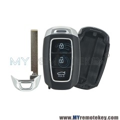 Smart key shell 3 button for Hyundai Accent 2018