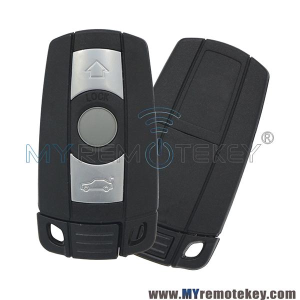 Smart Remote Key 3 Button Kr55wk49127 Kr55wk49123 Id46 Pcf7953 For E39 E60 E61 E46 E38 E53 Bmw 328i 335i 528i 535i 550i 2008 2009 2010 2011