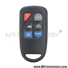 Remote fob keyless entry 6 button for Mazda Tribute GOH-PCGEN2