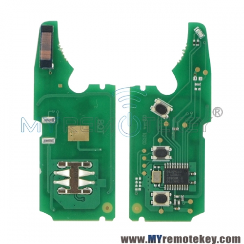 Remote key circuit board 315Mhz and 434Mhz PCF7946 chip for Porsche VW Touareg