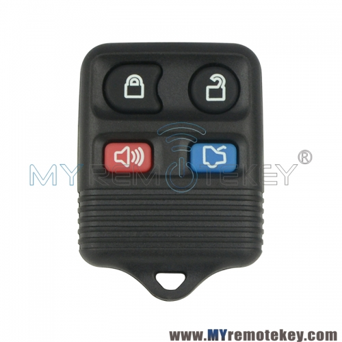CWTWB1U331/CWTWB1U345 Remote fob shell 4 button for Ford Edge Explorer Escape 1998 - 2007