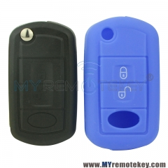 Silicone key Case shell 3 button for Land rover LR3 LR4 remote key