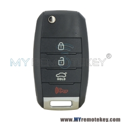 Flip remote key 4 button 315Mhz for Kia