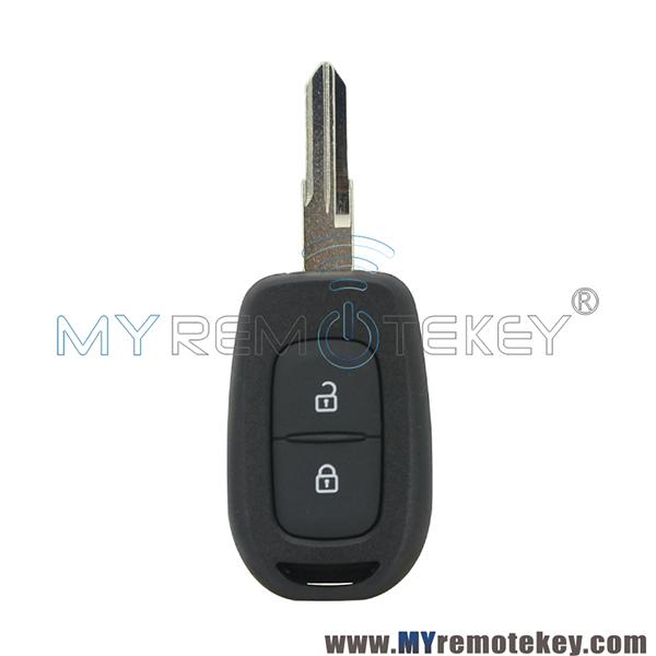 2t Spare Car Key Remote Case for Dacia Duster Sandero Logan