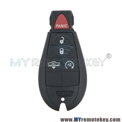 OEM GQ4-53T fobik key remote 4 button with panic 434Mhz for 56046955AG 2013 2014 2015 2016 2017 2018 DODGE RAM