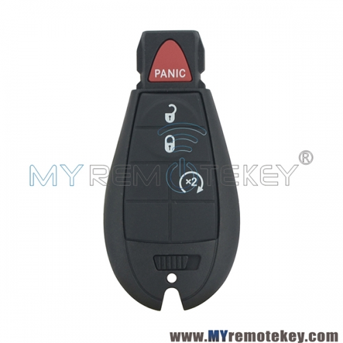 OEM GQ4-53T fobik key remote 3 button with panic 434Mhz for 56046955AG 2013 2014 2015 2016 2017 2018 DODGE RAM