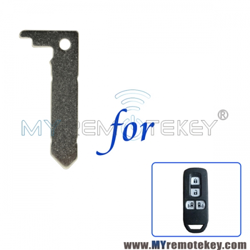 New type smart emergency key blade for Honda