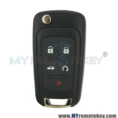Keyless Smart key or Remote Key 4 button with panic 434 Mhz for Chevrolet Equinox Camaro Buick Encore Lacrosse Regal V2T01060512