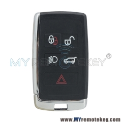 Smart key case shell 5 button for Jaguar 2019