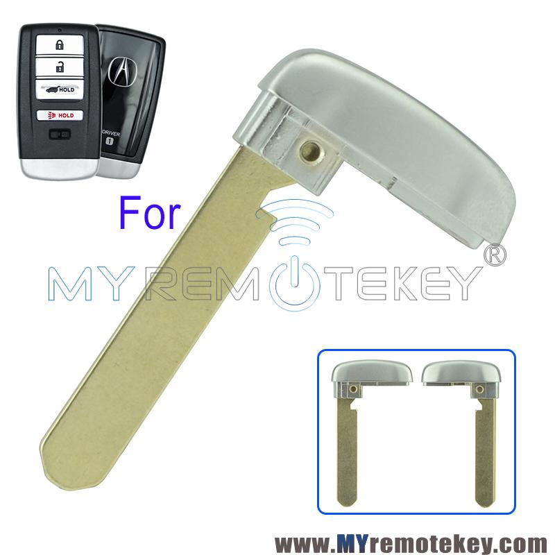 Smart Emergency Key Blade For Acura MDX RLX TLX