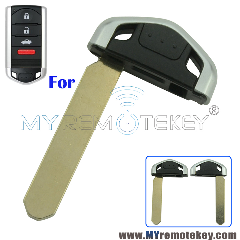For 2009-2015 Acura TL ILX ZDX RDX Emergency Key