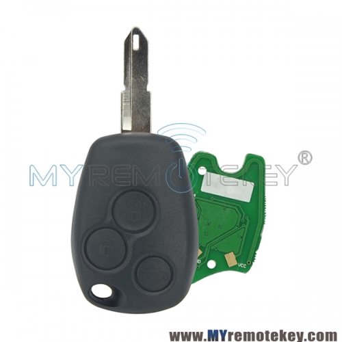 Remote car key 3 button PCF7947 ASK NE73 433mhz for Renault Clio III Kangoo II Master Modus