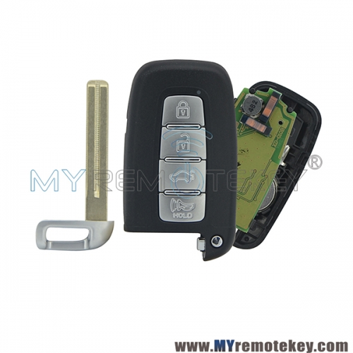Smart car key for Hyundai Kia 4 button 434mhz PCF7952