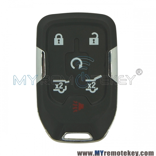HYQ1AA Smart key fob remote 315mhz ID46 chip 6 button for GMC Yukon 2015-2020 P/N: 13580804
