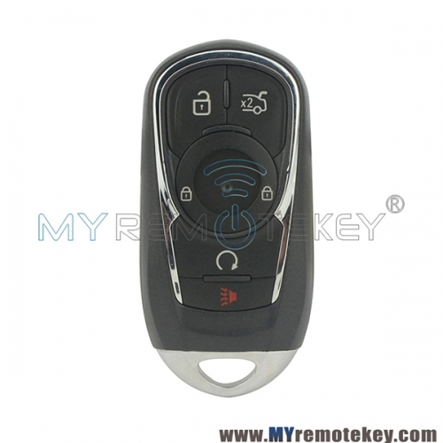HYQ4AA smart key 6 button 315mhz 433mhz ID46 chip for 2017 2018 Buick Encore