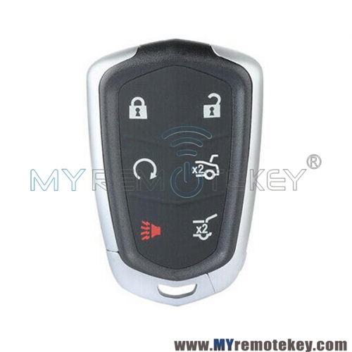 Smart key case shell 6 button for Cadillac Escalade 2015 2016 HYQ2EB