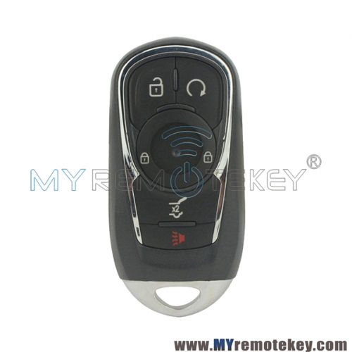 HYQ4AA smart key case 5 button for 2017 2018 Buick Encore