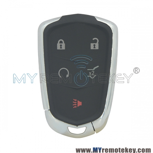 Smart key case 5 button for Cadillac Escalade 2015 2016 HYQ2EB
