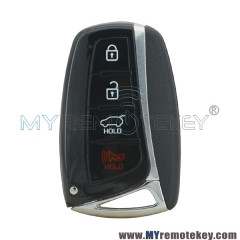 95440-4Z200 Smart Key case 4 button for Hyundai Santa Fe 2015 2016 2017 2018
