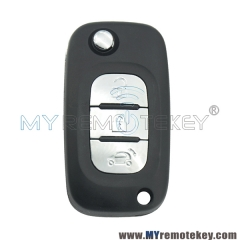 Flip Remote Key 3 button 433Mhz 4A Chip for Mercedes Benz Smart Fortwo 453 Forfour
