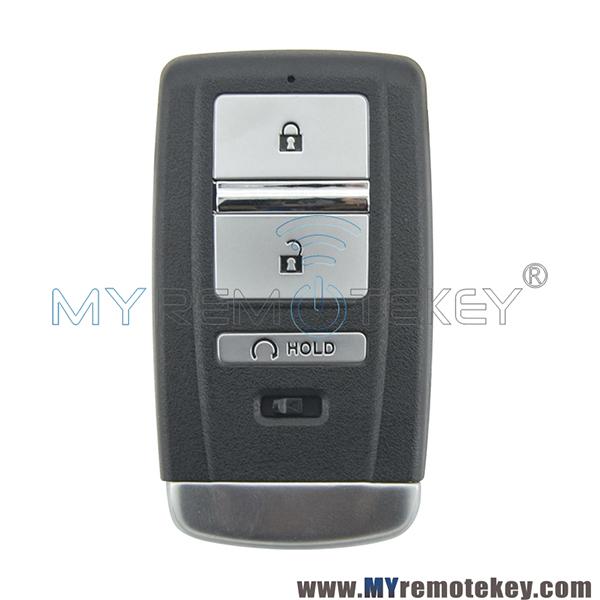 Smart Key Case 3 Button For Acura RLX RDX TLX ILX MDX 2016
