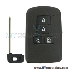 Smart key case 4 button for Toyota Sienta Noah Voxy Vellfire 2014 2015 2016 2017 89904-28561