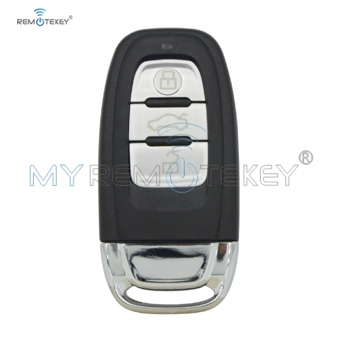 8T0959754C smart key remote fob 3button 315mhz 434mhz 868mhz for Audi A3 A4 A5 A6 A7 A8 S4 S5 RS4 RS5 Q5 Q7 2009 2010 2011 2012 8T0959754C