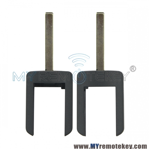Remote key blade for Opel HU100