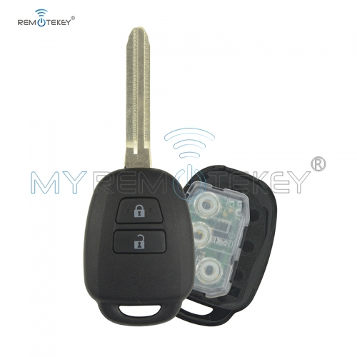 DENSO HYQ12BDM/HYQ12BEL Remote key 314.4Mhz 2 button for Toyota 2014 2015