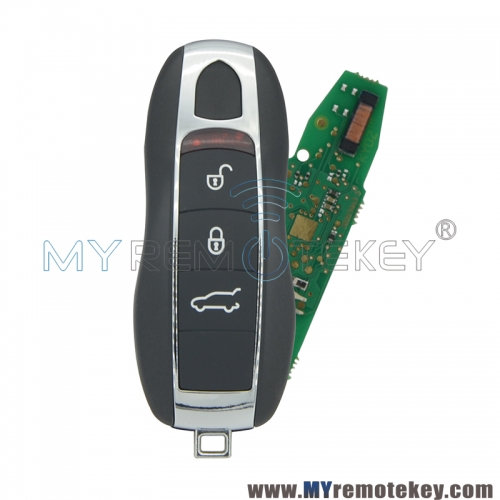 KR55WK50136 Keyless go smart key 3 button 433Mhz and 434Mhz for Porsche Panamera 2010-2015