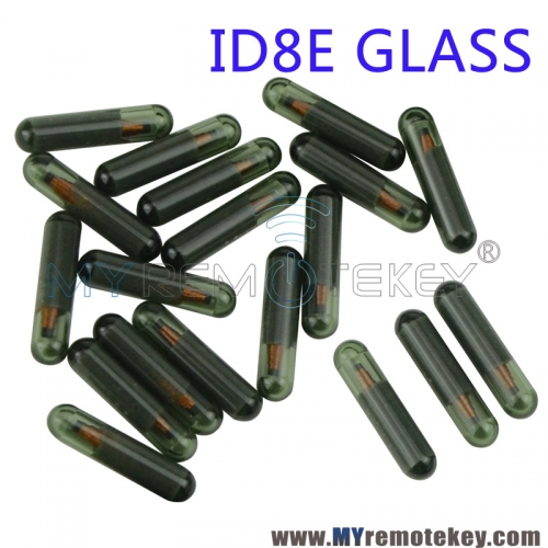 ID8E glass transponder chip for Honda Acura key replacement