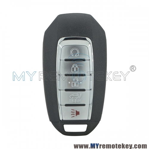 5TXN7 smart key case 5 button for 2019 Infiniti QX60 PN 285E3-9NR5B