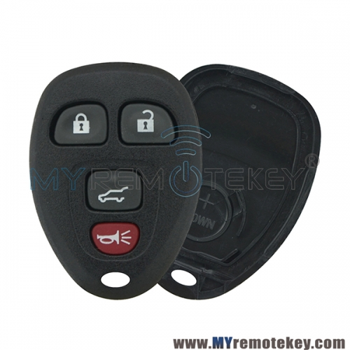 For Buick Lucerne Cadillac Chevrolet remote fob case OUC60270 4 button