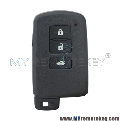 P/N 89904-33500 TOKAI RIKA BA2EQ Smart Key Shell Case Fob 3 Button for Toyota Camry 2010