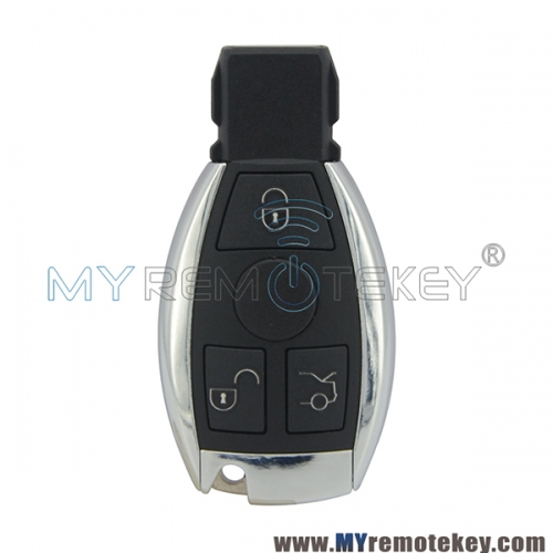 Smart car key case shell for Mercedes S CL C class 3 button