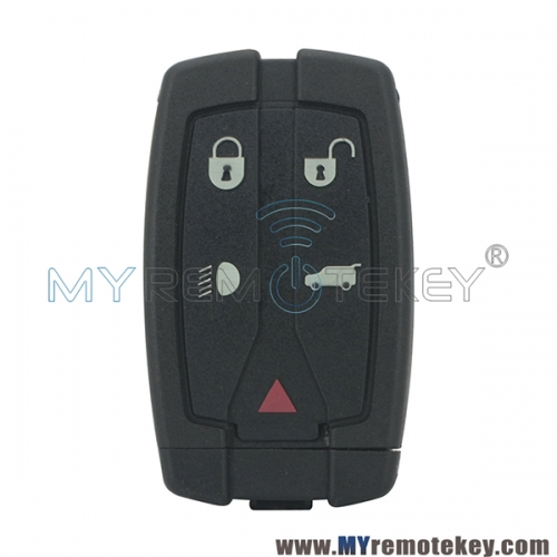 Smart key 315mhz or 434mhz 4 button with panic for Landrover freelander LR2 2008 2009 2010 2011
