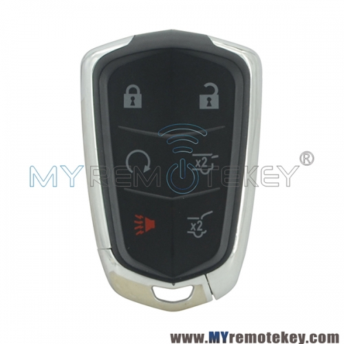 HYQ2EB smart key 315mhz 433mhz ID46 chip 6 button for Cadillac Escalade 2015 2016