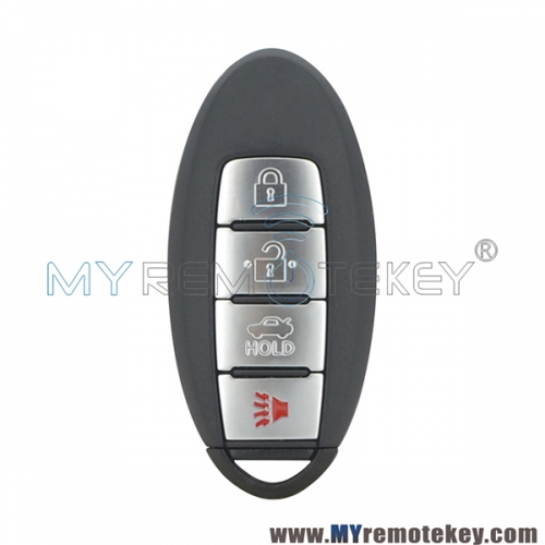 CWTWB1U787 Smart key 4 button 433mhz 46 chip for Nissan