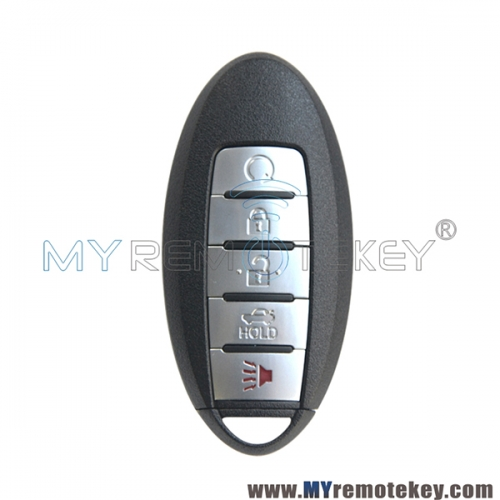 S180144310 smart key case 5 button for Nissan Altima Maxima 2016 2017 2018 FCC KR5S180144014