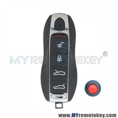KR55WK50138 Keyless go Smart key 4 button with panic 315mhz for Porsche 911 Boxter Cayenne Cayman Macan Panamera