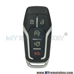 M3N-A2C31243300 smart key 5 button 902mhz for Ford Fusion 2013 2014 2015 P/N 164-R7989