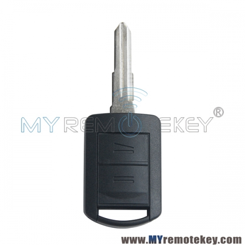 Remote key case shell for Opel Astra 2 button