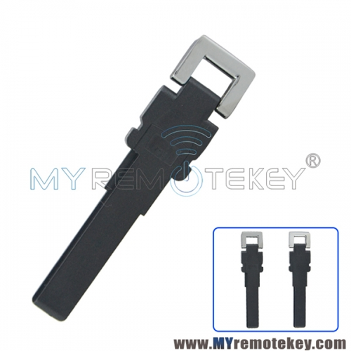 Plastic smart emergency key blade HU66 for VW for Volkswagen Magotan Passat CC